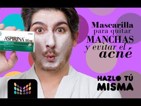 Mascarilla para Quitar Manchas y Marcas de Acne - HZT - DIY - YouTube