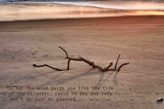 Let the wind guide you like the tide by SaltandSandDesign on Etsy, $5.25: Crafts Ideas, Sands Design, Wind Guide, Quiet Moments