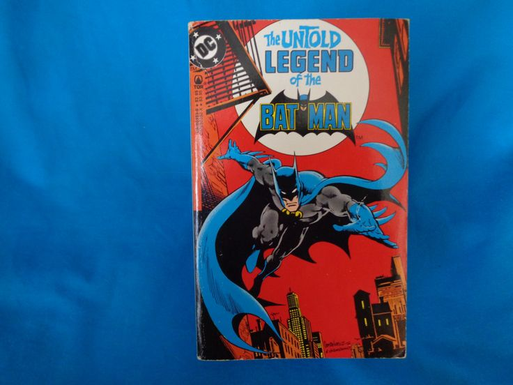 Vintage 1982 The Untold Legend of the Batman book by Len Wein DC Comics by TheVintageKeepers on Etsy
