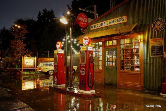 Disney California Adventure Grizzly Peak Humphrey's Service & Supplies