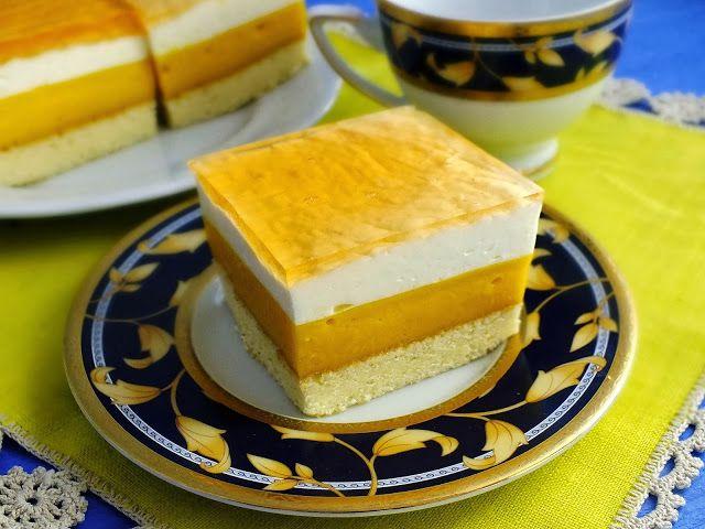z cukrem pudrem: pastelowe ciasto z soczku Kubuś