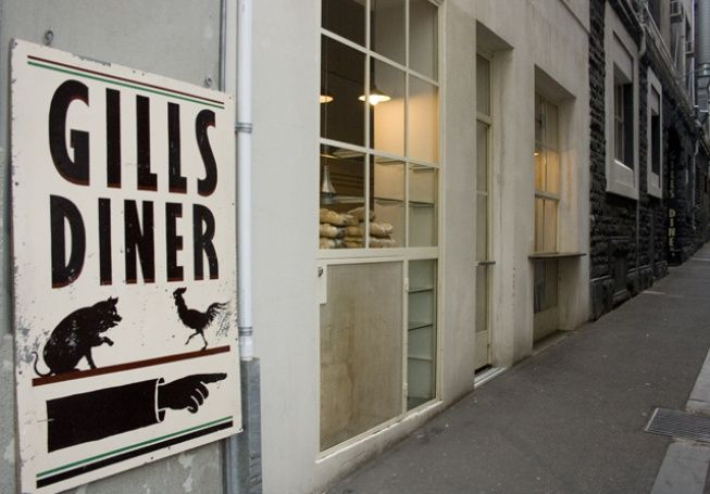 Walk 5 minutes down Little Collins St you'll find Gills Diner hidden down an alley way. With an award winning wine list, seasonal ingredients and a distinct Eurocentric style it's the perfect secret escape.