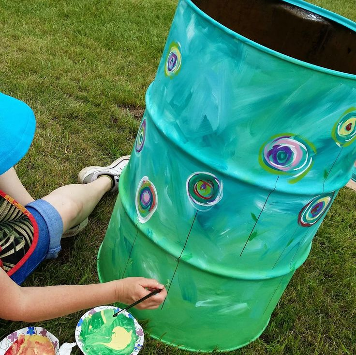 artistic trash cans - Google Search
