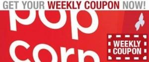 Cinemark Weekly Coupon 2 Off Popcorn Popcorn Coupons Frozen Drinks