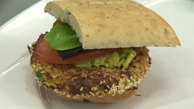 Looking for a new twist on a burger? Try this mango and jalapeno salmon burger, with avocado mayo. Yum! Click the link for the full recipe. http://atlantic.ctvnews.ca/ctv-news-at-5/mango-and-jalapeno-salmon-burgers-1.1293951