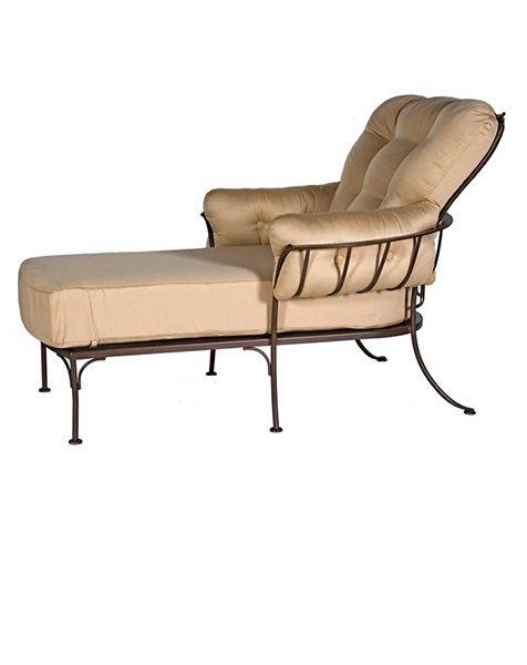 wrought iron outdoor chaise lounge chairs SOFAS & FUTONS Pinterest