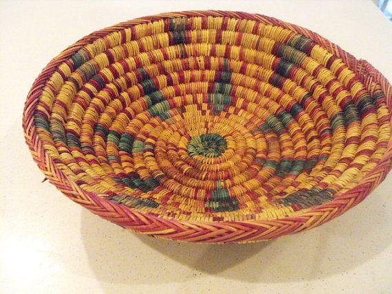 Coil Basket Weaving Patterns : Best clothesline baskets images on