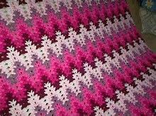 Amish Lacy Chevron Afghan Crochet Pattern - Bing Images  Sponsored By: Grandma's…