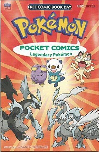 Pokemon  Pokemon Comics Legendary Pokemon Viz Media Comic Book Graphic Novel Story & Art by Sant Harukaze