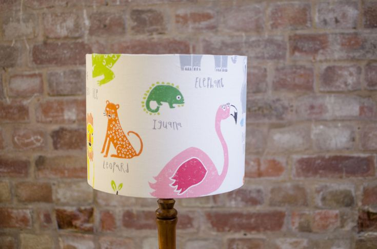 Animal lampshade, Nursery lampshade, Animal nursery lampshade, Nature nursery decor, Elephant nursery lampshade, Nursery table lamp, Bedroom by ShadowbrightLamps on Etsy https://www.etsy.com/uk/listing/589912019/animal-lampshade-nursery-lampshade