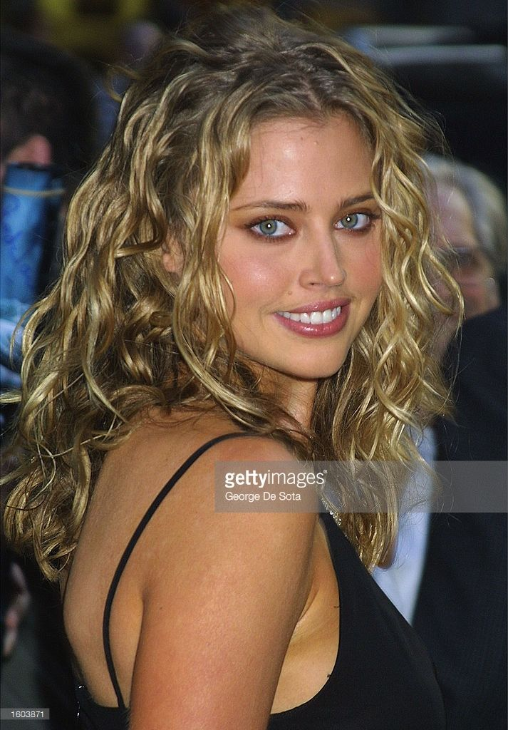 Actress Estella Warren attends the world premiere of the