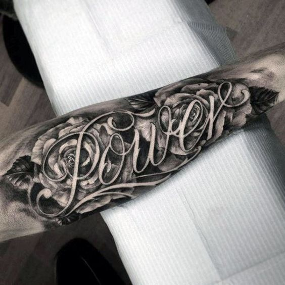 Tattoo His Name Quotes: 50 Last Name Tattoos For Men