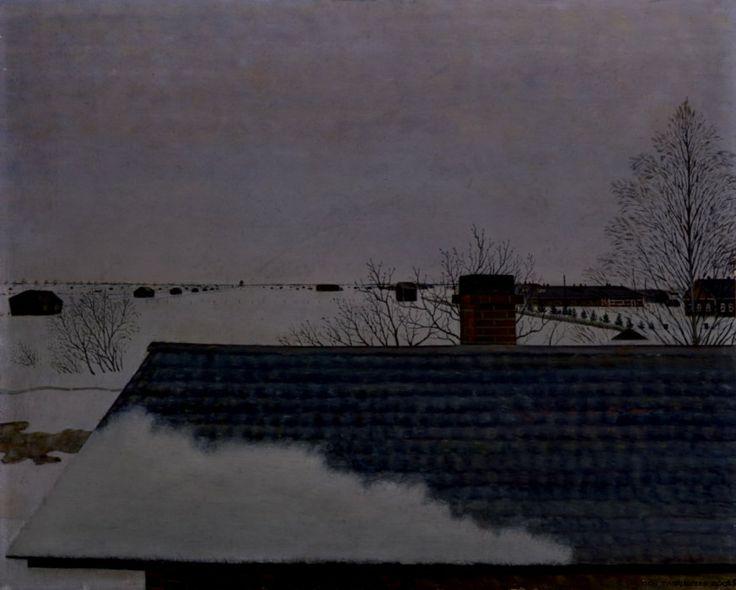 Vilho Lampi: Saunan katto, 1935.
