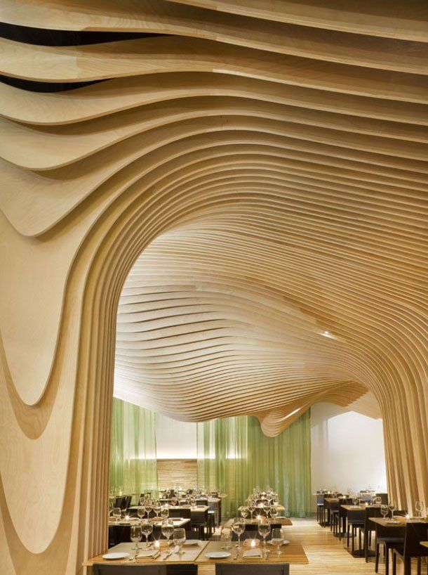 manufactured cave ceiling