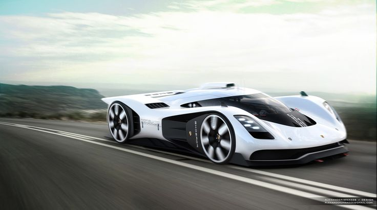 Porsche 906/917 Concept Is One Designer's Stunning Vision For A Future Racer