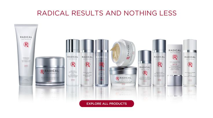Anti-Aging Skin Care With Trylacel Technology   Radical Skincare