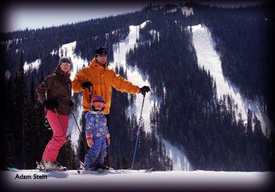 Skiing and Snowboarding in Kamloops, British Columbia