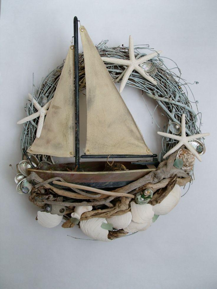Gorgeous wreath via Marjorie Stafford Design - Hidden Treasures Series
