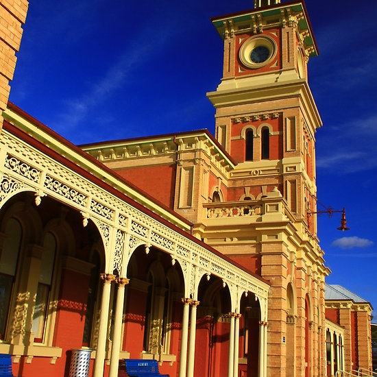 Albury Railway Station. Country NSW