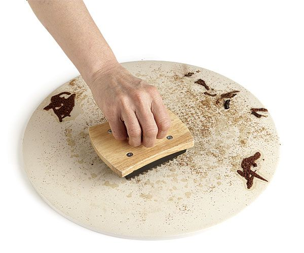 Pizza stones require special care. Here are some guidelines to help keep your stone in great shape.