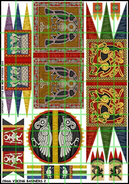 VIKING BANNERS Ideas for a new banner - great raven examples