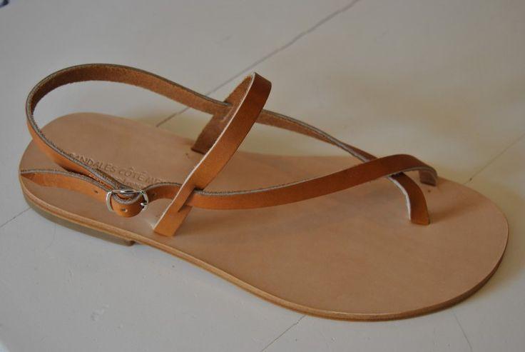 sandales tropeziennes spartiates modele ESTHETE