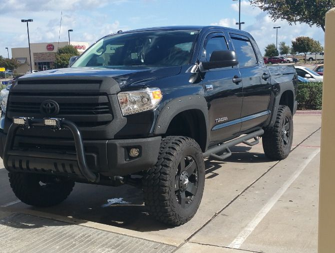 2015 Toyota Tundra CrewMax 4wd Pro Comp Xtreme M/T 2 37/12.50R20 (1211)