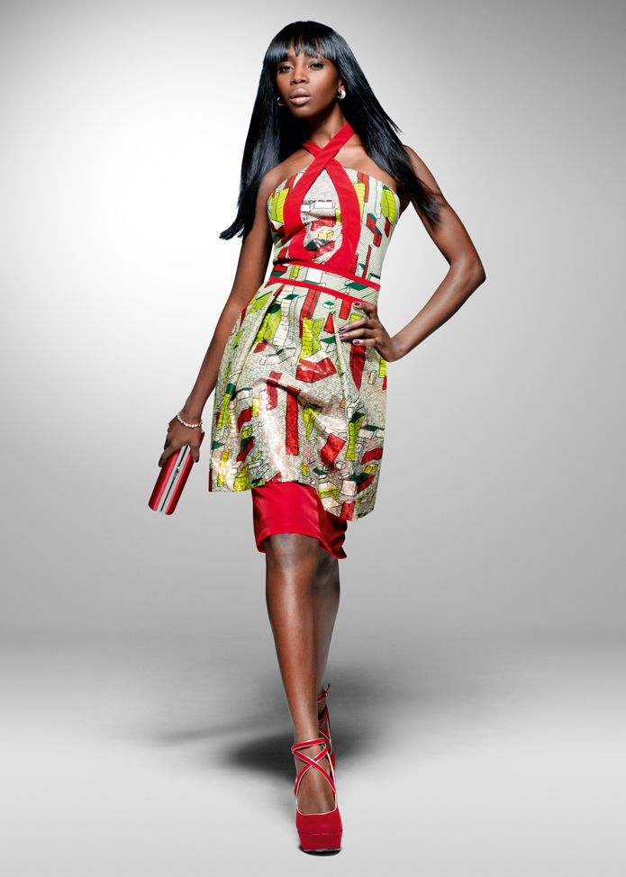 From the archive: a party look from Vlisco's 2011 'Nouvelle Histoire' collection…