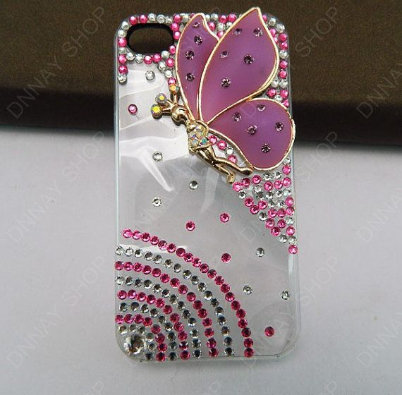 iphone 5 case pink butterfly angel  iphone 4 case by dnnayding, $20.99