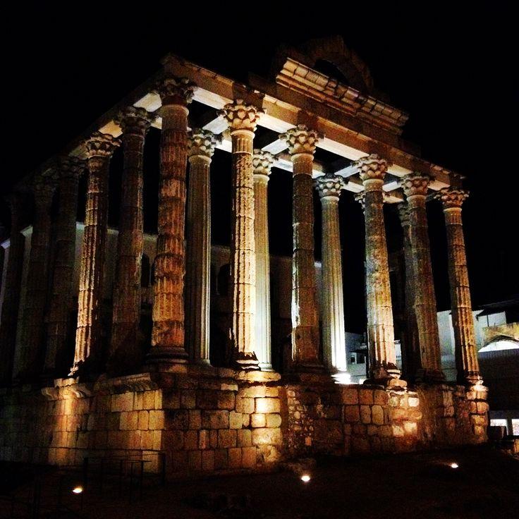 Templo de Diana, Mérida, Extremadura
