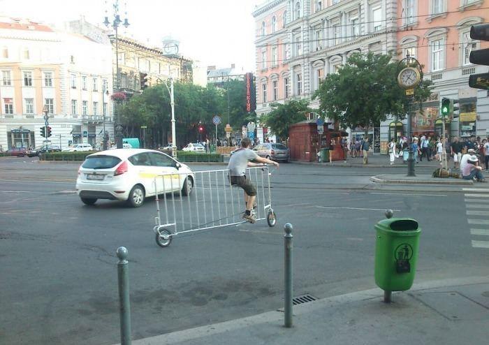 Fence Bike