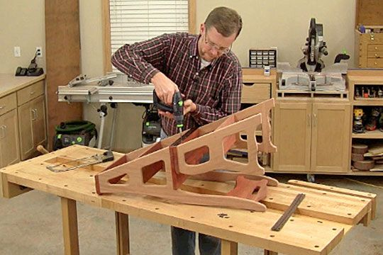 Building A Convertible Step Stool And Chair Woodworking