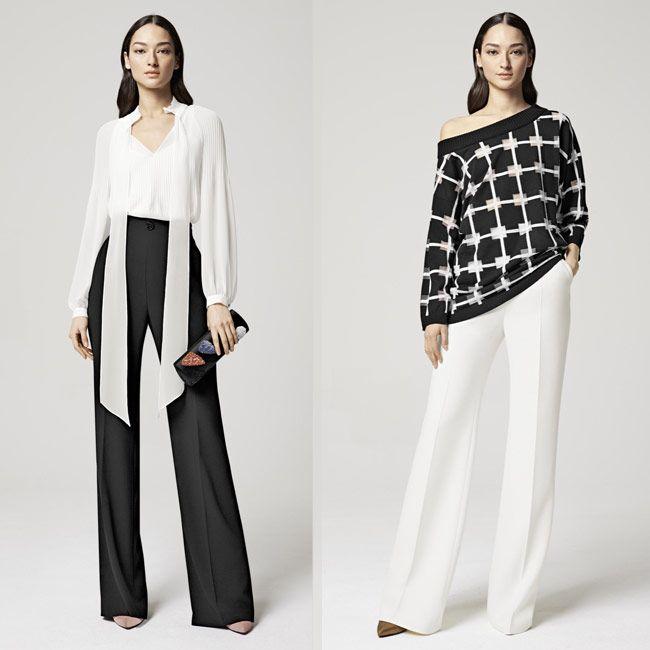 модные брюки макси из коллекции Escada 2016