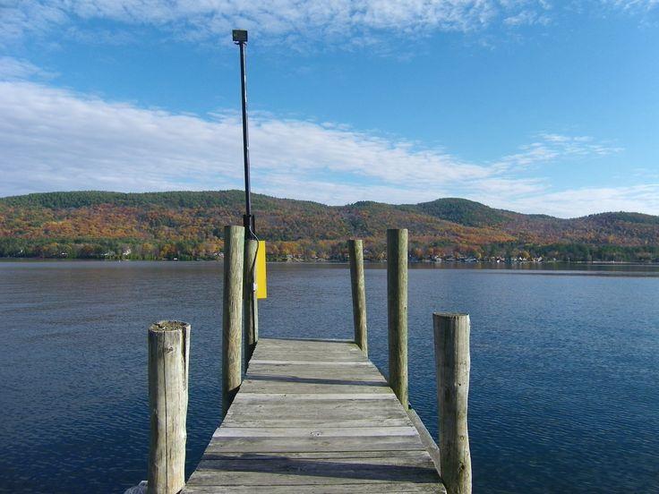 Dock in autumn