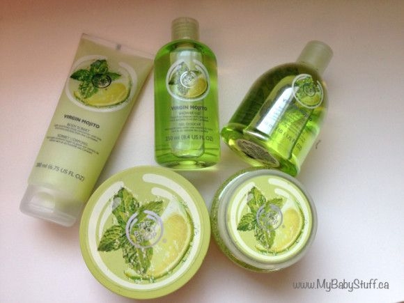 The Body Shop Virgin Mojito limited edition