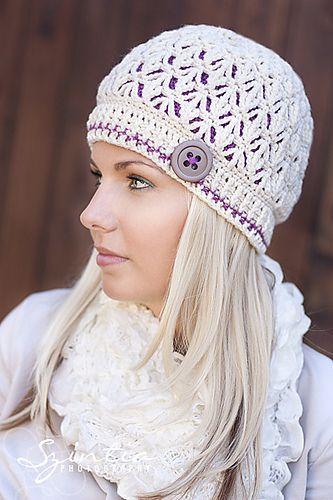 Cute adult crochet cap