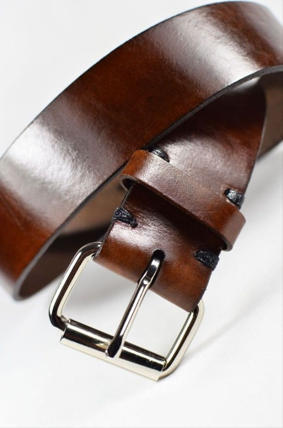 Chevron Embossed Leather Belt Handmade from Cellar Leather 2015 - 2016 http://profotolib.com/picture.php?/19853/category/554