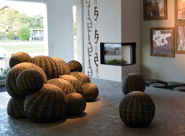 369 best images about design general on pinterest for Canape cactus sofa