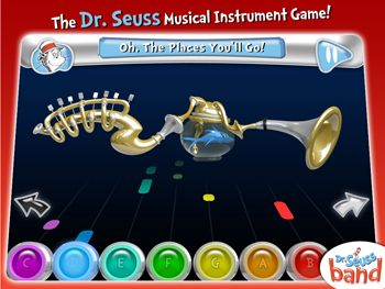Celebrate Dr. Seuss with this FREE Dr. Seuss Band APP