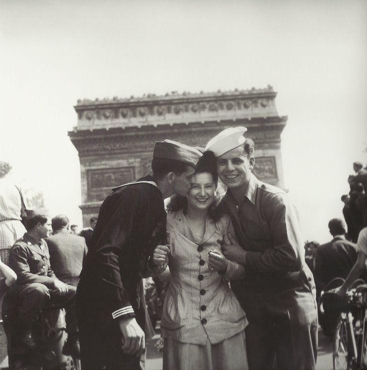 Libération de Paris - Robert Doisneau