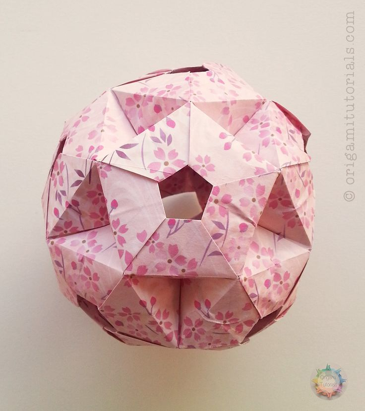 Icosidodecahedron By Tomoko Fuse