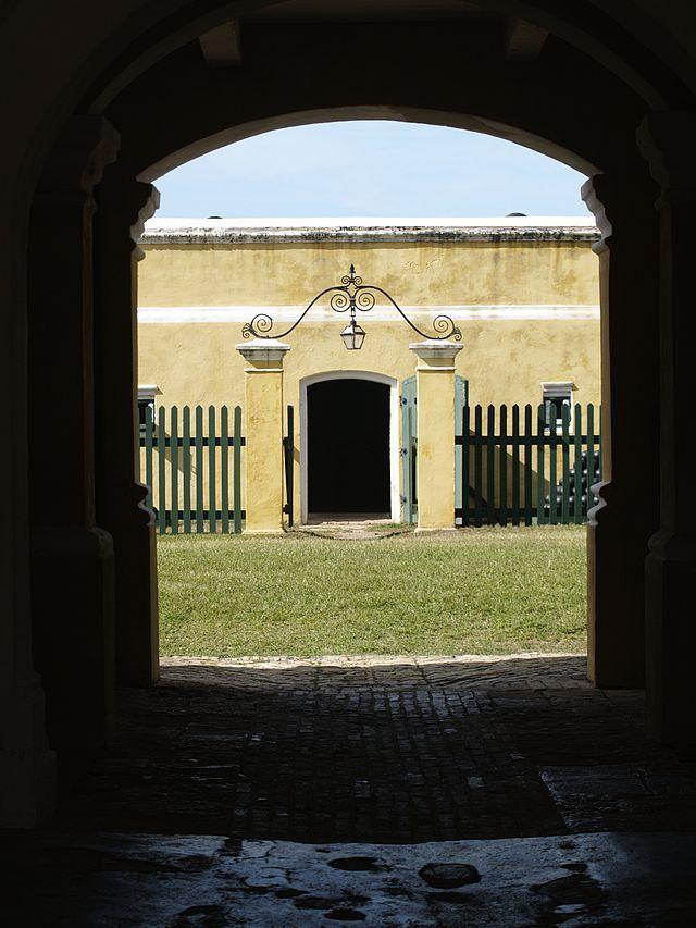 Fort in Frederiksted auf St. Croix ◆Amerikanische Jungferninseln – Wikipedia http://de.wikipedia.org/wiki/Amerikanische_Jungferninseln #US_Virgin_Islands