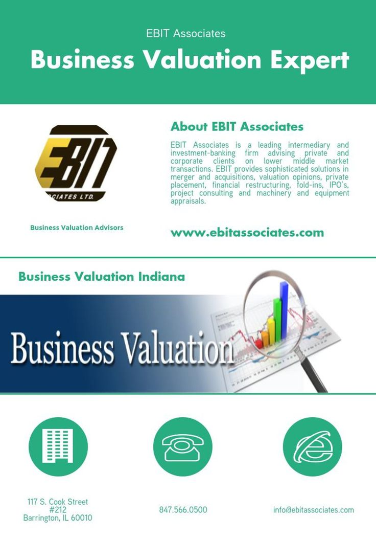 Top #Business #Valuation #Expert in #Indiana -- #EBIT #Associates