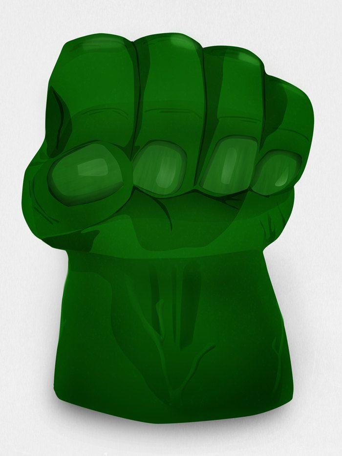 Hulk Fist Symbol For Cake Birthday Inspo Avengers