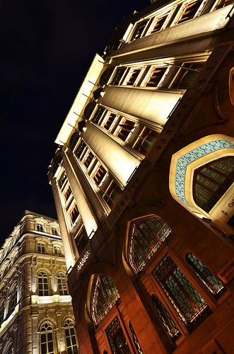 Night at Karakoy, Istanbul
