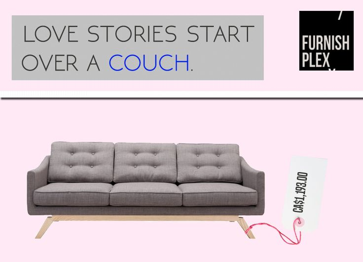 #Love for furniture just gets doubled. #LoveOverCouch #CouchTogetherness #CouchLove
