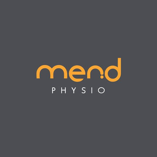 Mend Physio Logo by Emblime