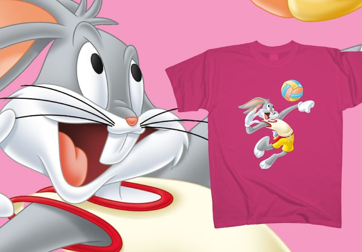 Bugs Bunny - Beach volley  http://www.toonshirts.com/products/looney-tunes/130-bugs-bunny-beach-volley
