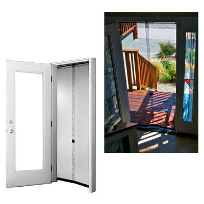 Bug Off Portable and Reversible Screen Door Size: 80\