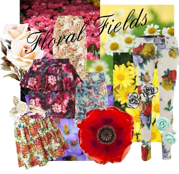 """""""Floral Fields"""" by alicia-king on Polyvore"""
